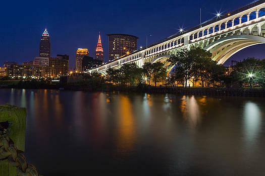 Cleveland Skyline by David Pilasky