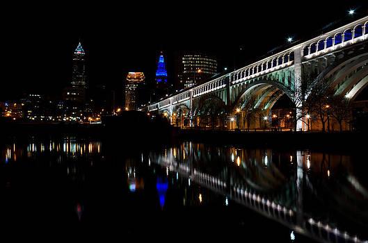 Cleveland Veterans Bridge by Paul Cimino