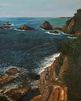 Cliff 1 by Pedro Riera