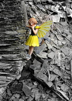 Cliff Hanger 2 Woodland Fairies by Linda Rae Cuthbertson