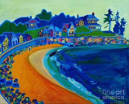 Cliff House near Hampton Beach NH by Debra Bretton Robinson