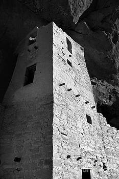 Douglas Taylor - CLIFF PALACE DETAIL - SHADES OF GREY