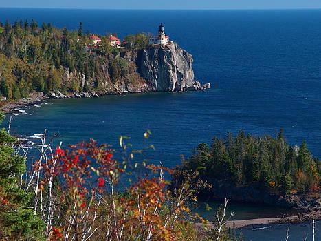 Cliffside Scenic Vista by James Peterson