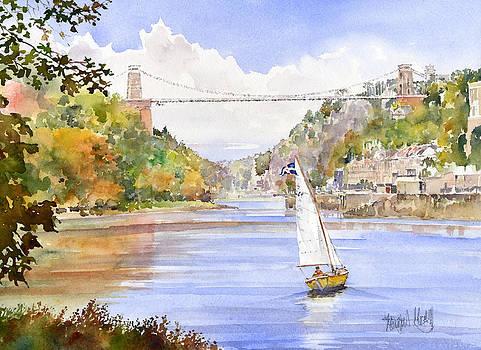 Clifton Suspension Bridge by Margaret Merry