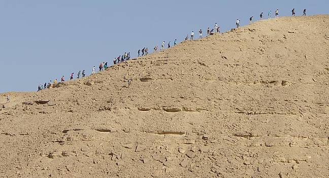 Climbing in the Desert by Heather Gordon