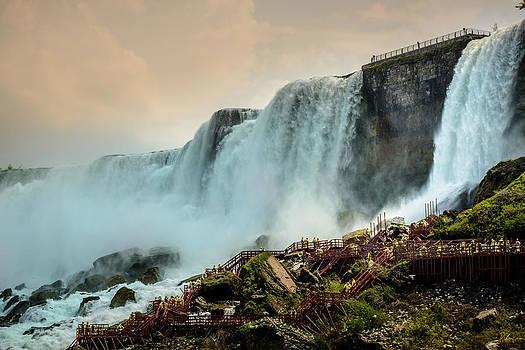 Climbing the Falls by Pat Scanlon