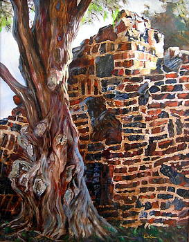 Clinker Wall by LaVonne Hand