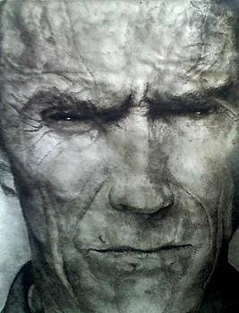Clint Eastwood by Chris Camenga