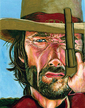 Clint Eastwood by Joshua Holmes