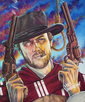 Clint Eastwood by Mike Vanderhoof