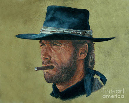 Clint Eastwood by Stu Braks