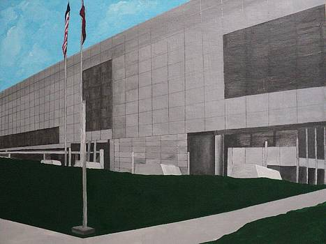 Clinton Presidential Library by Angelo Thomas