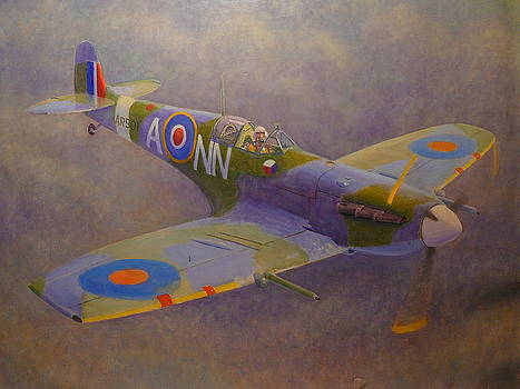 Clip Wing Spitfire by Terry Perham