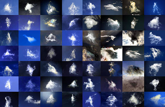 Sean Gautreaux - Cloaked Cloud Craft Collage