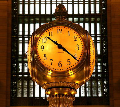 Clock at Grand Central by Xanat Flores