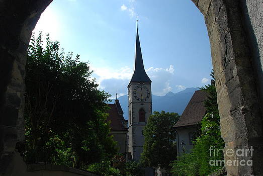 Pravine Chester - Clock Tower in Chur