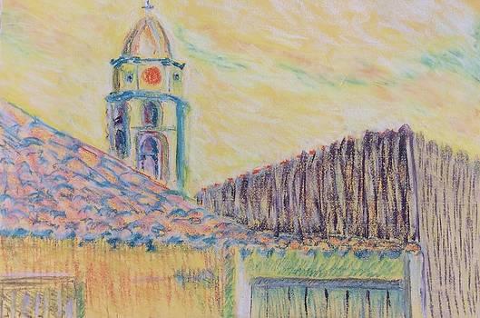 Clock Tower in Havana Cuba by Cristel Mol-Dellepoort