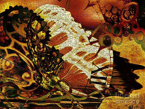 Clockwork Butterfly by Carole-Ann Ricketts