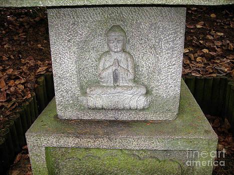 Ellen Miffitt - Close up of Buddha Garden Sculpture