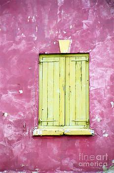Oscar Gutierrez - Closed Yellow Shutters