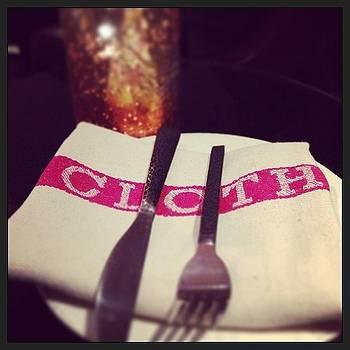 Cloth. #classic #foodie @juniperandivy by Chelsea Daus