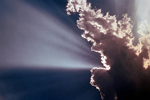Sunbeam cloud by Jim Cotton