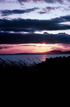 Lake Sunset by Jim Cotton