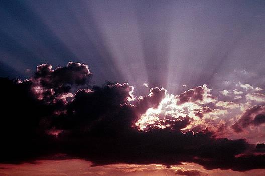 Dramatic Sunset by Jim Cotton
