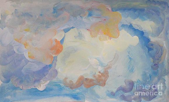 Cloud Abstract 2 by Anne Cameron Cutri