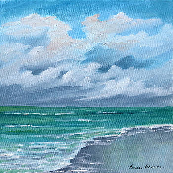 Cloud and More Clouds Seascape by Rosie Brown