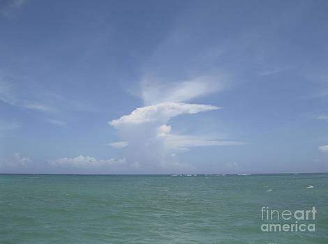 Cloud in Punta Cana by Paul Cammarata