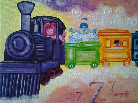 Cloud Seven by Edwina Sage Washington