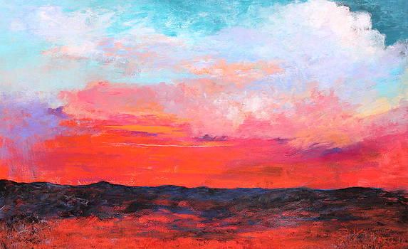 Cloud Study 4 by M Diane Bonaparte