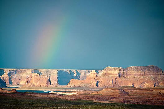 Cloudless Rainbow by Tom Wenger