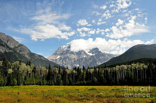 Clouds Above Mount Robson  by Tanya  Searcy