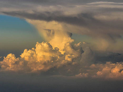 Clouds Above The Clouds II by Wanda J King