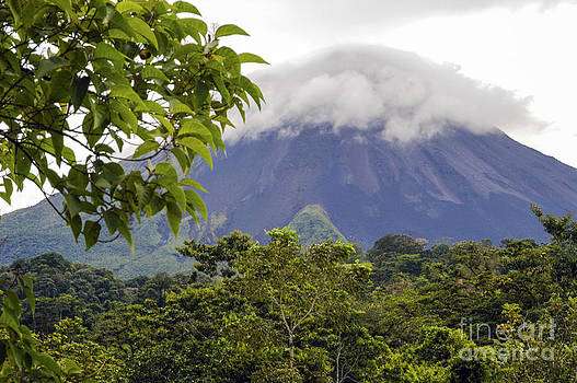 Bob Phillips - Clouds and Arenal Volcano