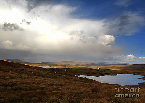 Clouds and rainbows by Annie  Japaud
