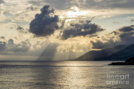Clouds and sea by Stefano Piccini