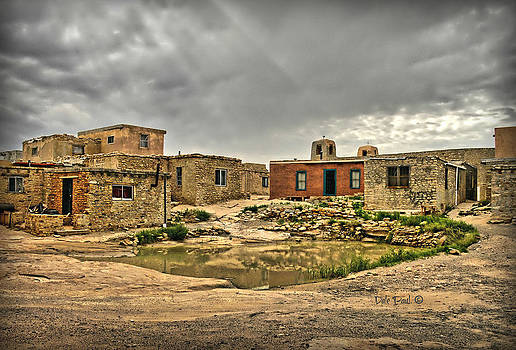 Clouds Gather Over Pueblo by Dale Paul