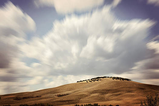 Clouds In Tuscany by Vaida Abdul