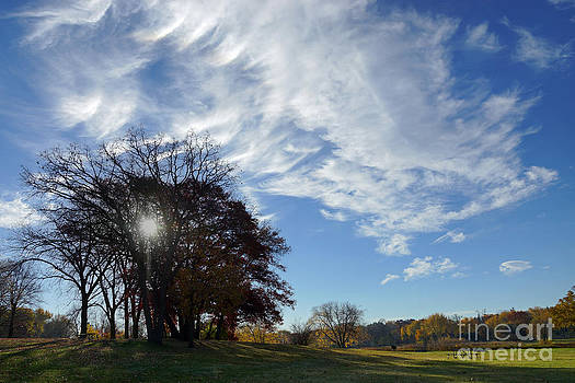 Clouds on an Autumn Day by Robin Clifton