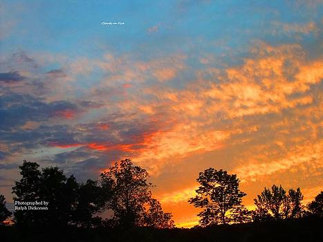 Clouds on Fire by Ralph Dickerson