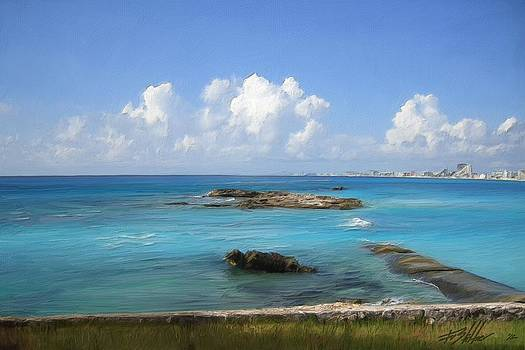 Clouds over Cancun by Forest Stiltner