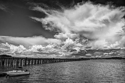 Clouds over San Rafael Bay by Keith Marsh
