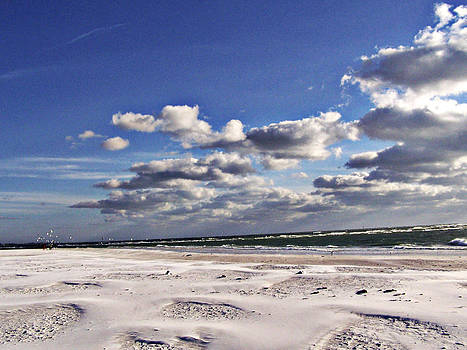 Clouds Over Siesta Key by Dori Basilius