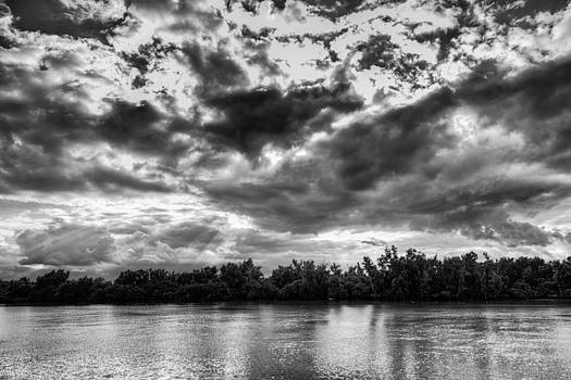 Clouds over The Mississippi by Bryan Davis
