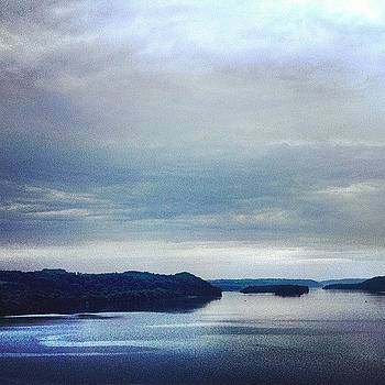 #clouds #sky #overcast #river #morning by A Loving