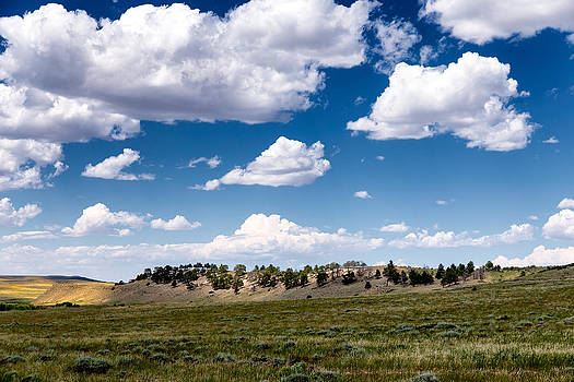 Clouds Wick Beumee Wildlife Habitat Management Area WY by Troy Montemayor
