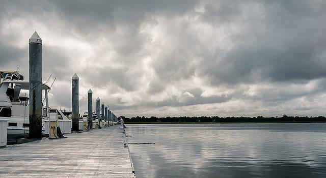 Cloudy at the Docks by Josh Blaha